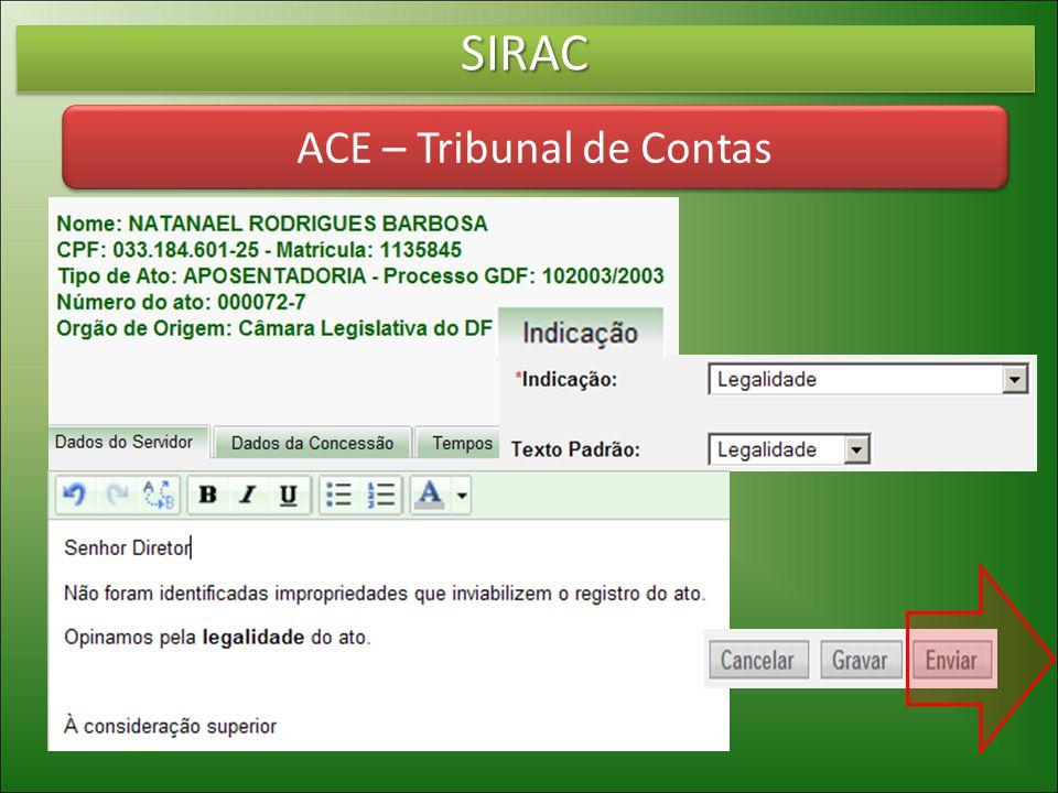 ACE – Tribunal de Contas