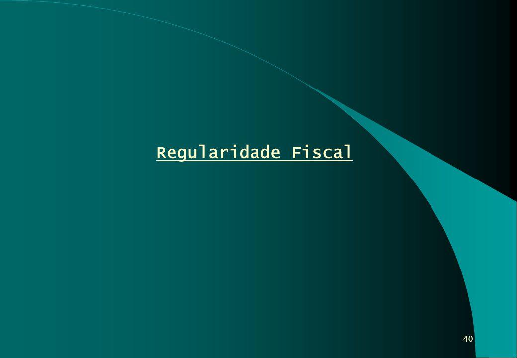 Regularidade Fiscal