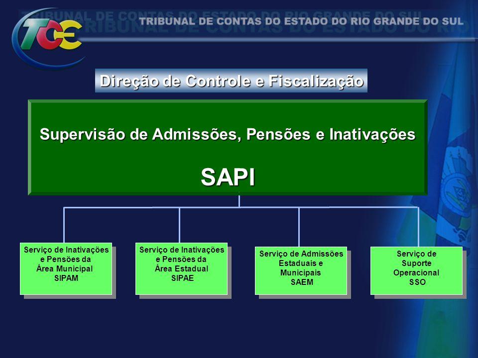 SAPI Direção de Controle e Fiscalização