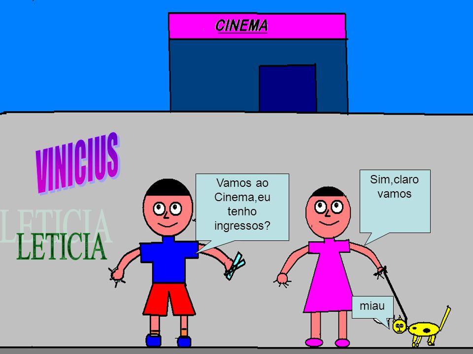 Cinema,eu tenho ingressos