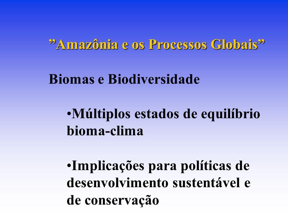 Amazônia e os Processos Globais Biomas e Biodiversidade