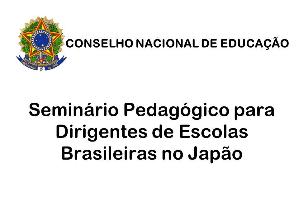 Seminário Pedagógico para Dirigentes de Escolas Brasileiras no Japão