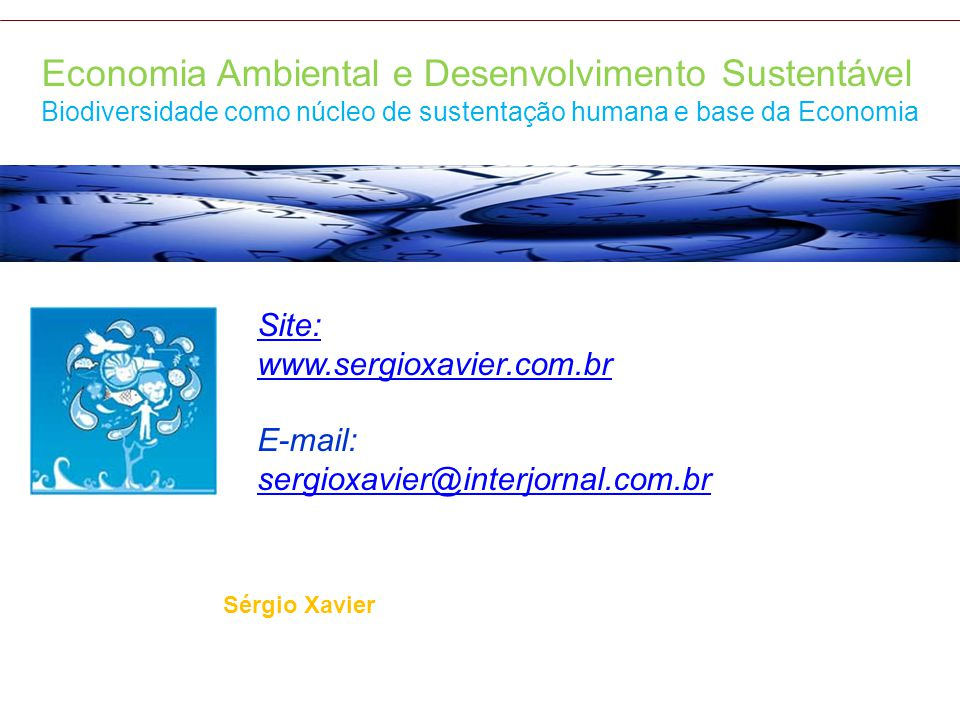 Economia Ambiental e Desenvolvimento Sustentável