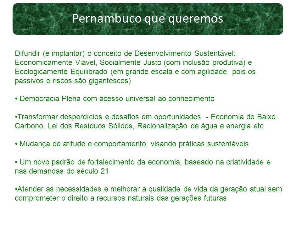 Pernambuco que queremos