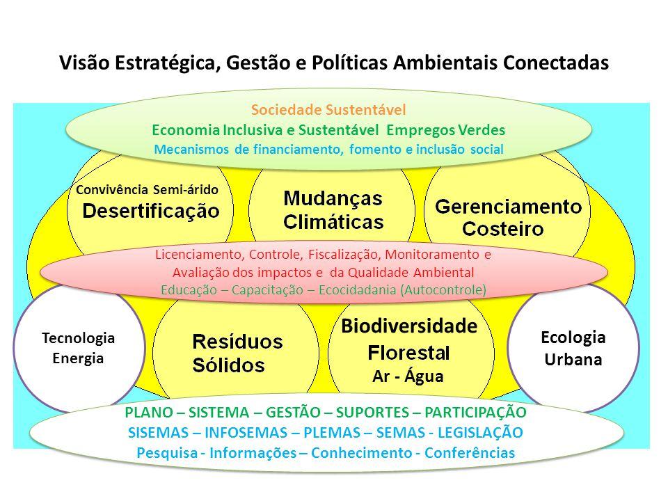 Visão Estratégica, Gestão e Políticas Ambientais Conectadas