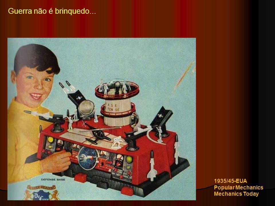 Guerra não é brinquedo... 1935/45-EUA Popular Mechanics