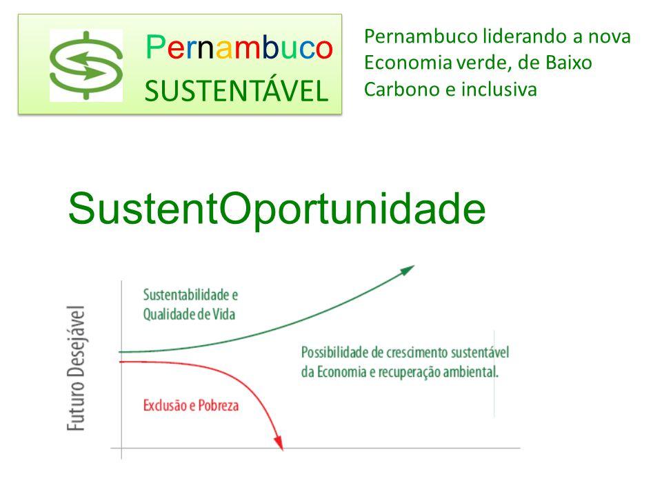 Pernambuco SustentOportunidade SUSTENTÁVEL Pernambuco liderando a nova