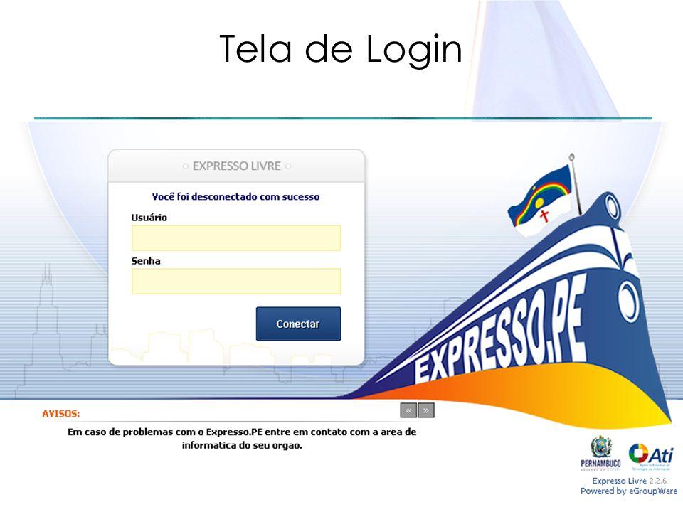 Tela de Login upp@ati.pe.gov.br