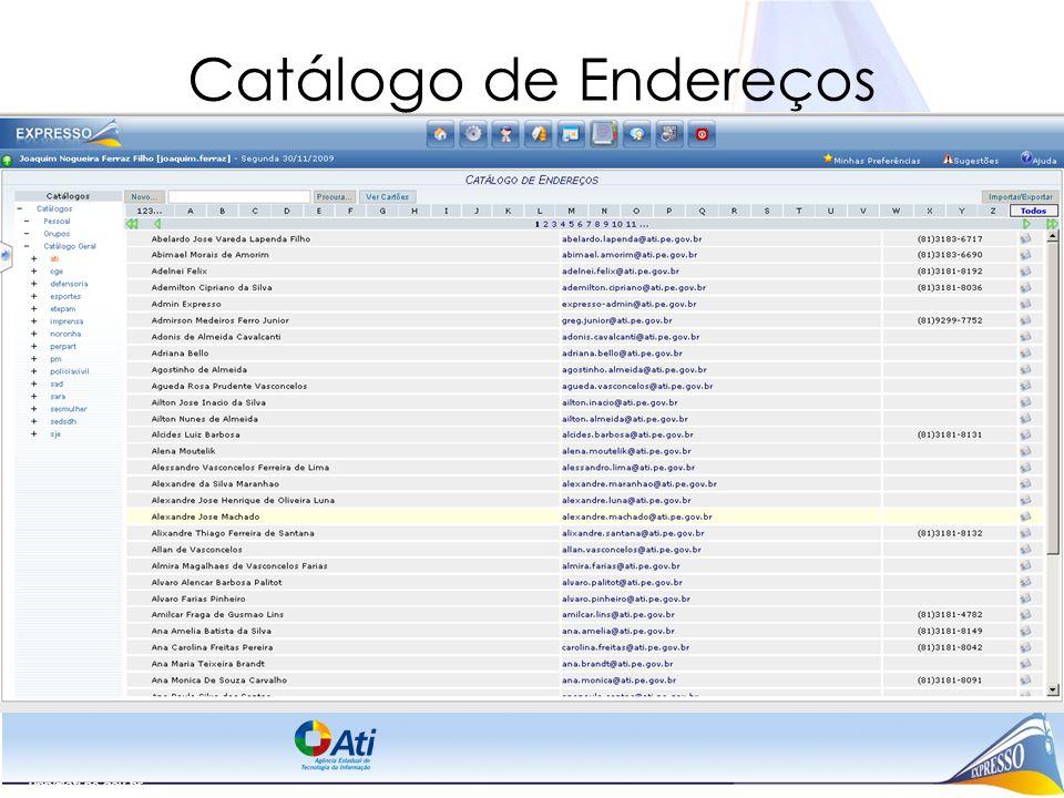 Catálogo de Endereços upp@ati.pe.gov.br