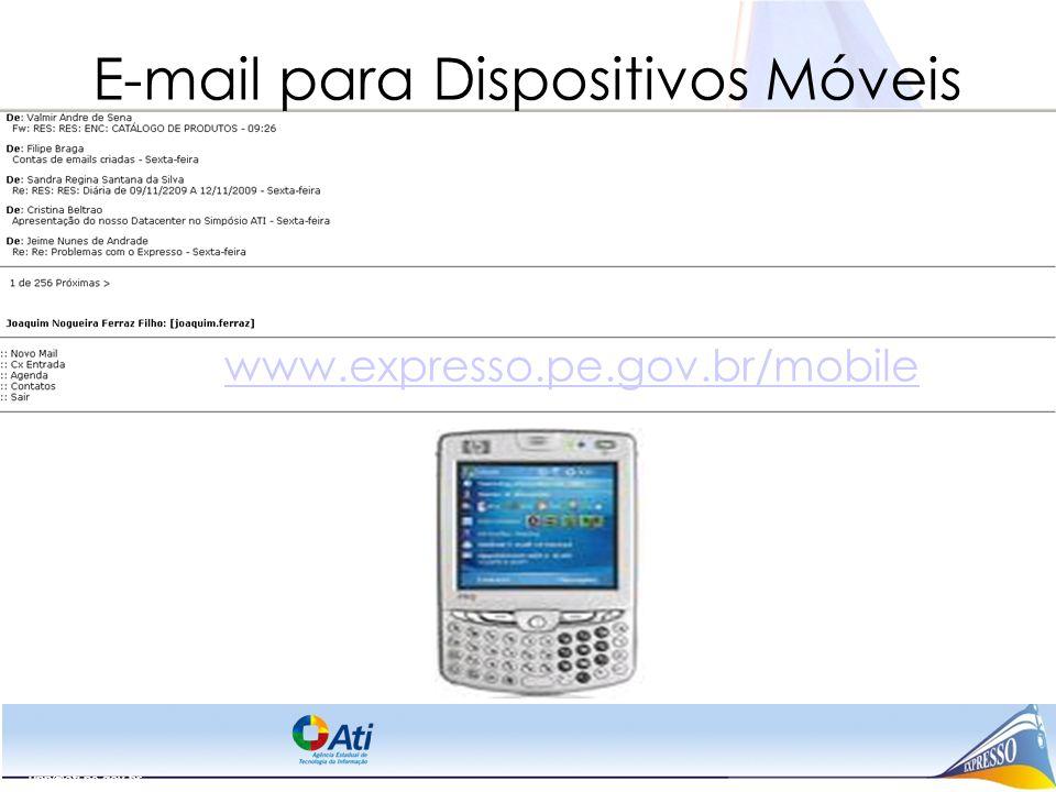 E-mail para Dispositivos Móveis