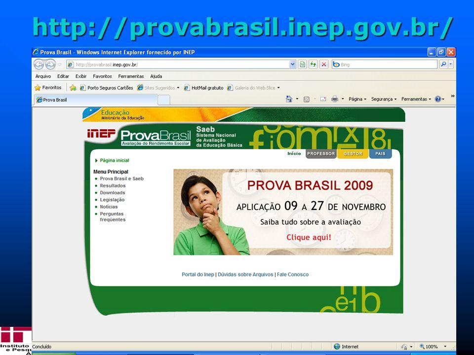 http://provabrasil.inep.gov.br/