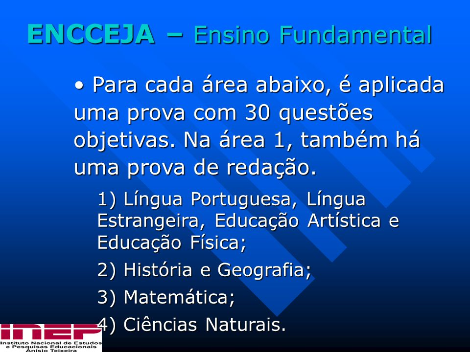 ENCCEJA – Ensino Fundamental
