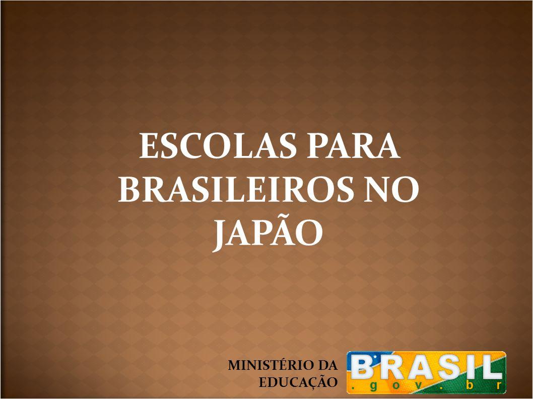 ESCOLAS PARA BRASILEIROS NO JAPÃO