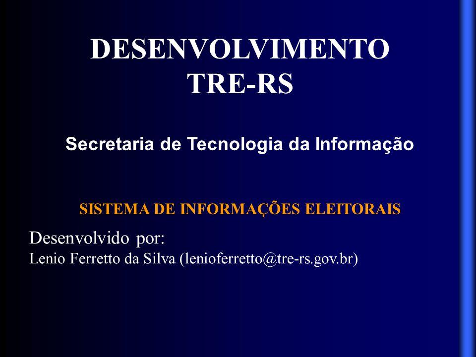 DESENVOLVIMENTO TRE-RS