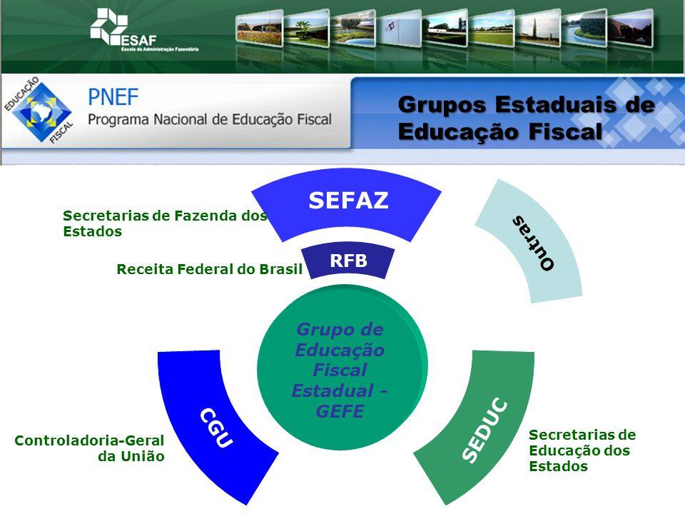 Grupo de Educação Fiscal Estadual - GEFE