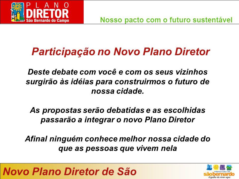 Participação no Novo Plano Diretor