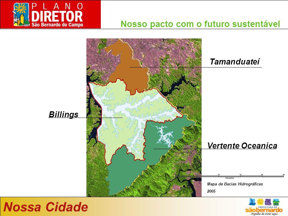 Nossa Cidade Nosso pacto com o futuro sustentável Tamanduateí Billings