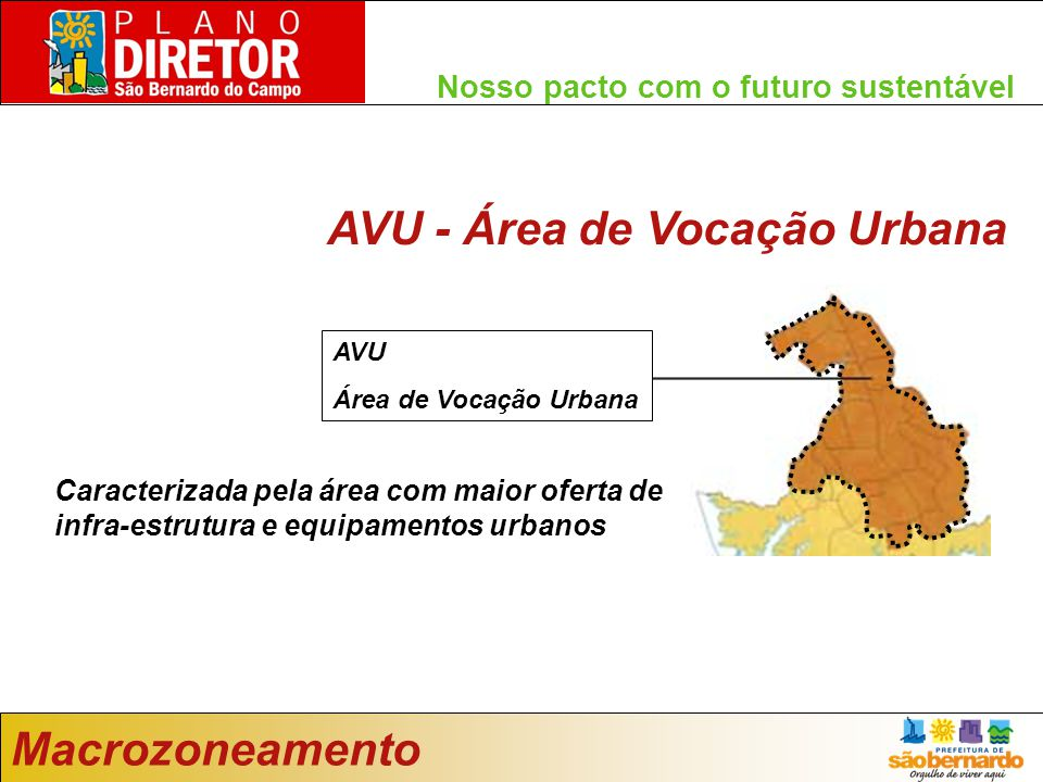 AVU - Área de Vocação Urbana