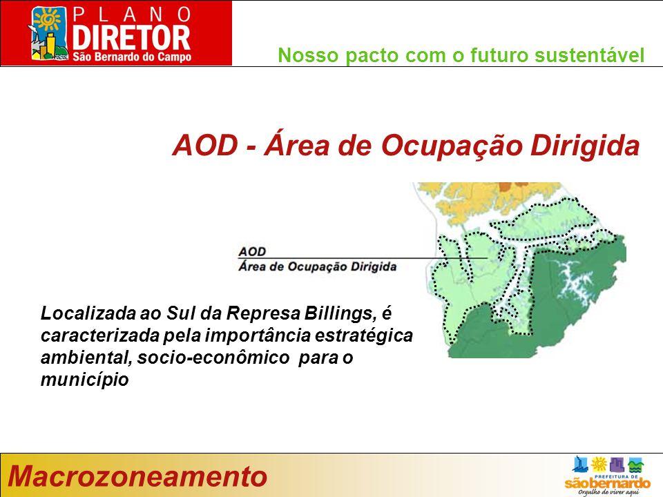 AOD - Área de Ocupação Dirigida
