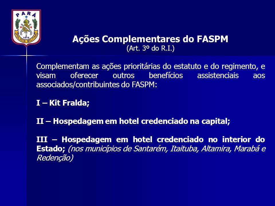 Ações Complementares do FASPM