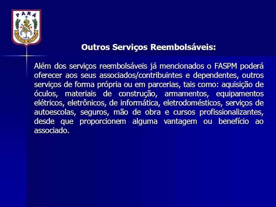 Outros Serviços Reembolsáveis: