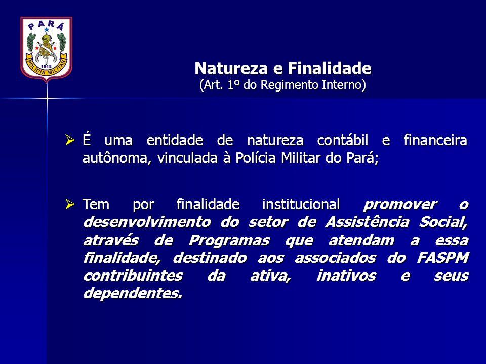 Natureza e Finalidade (Art. 1º do Regimento Interno)