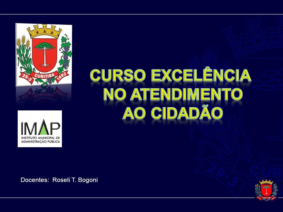 Curso EXCELÊNCIA NO ATENDIMENTO AO CIDADÃO