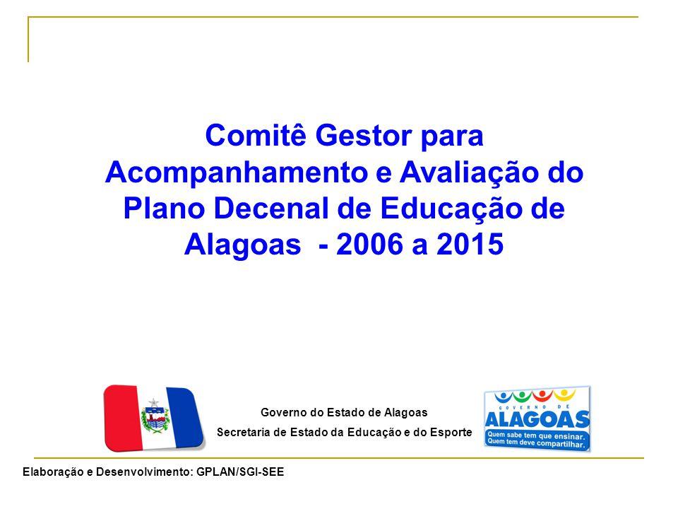 Comitê Gestor para Acompanhamento e Avaliação do Plano Decenal de Educação de Alagoas - 2006 a 2015