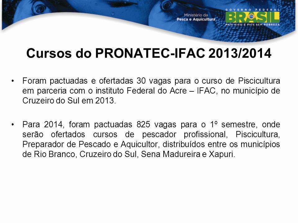 Cursos do PRONATEC-IFAC 2013/2014