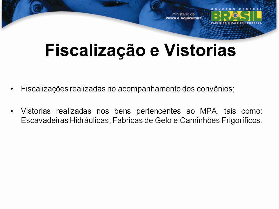 Fiscalização e Vistorias