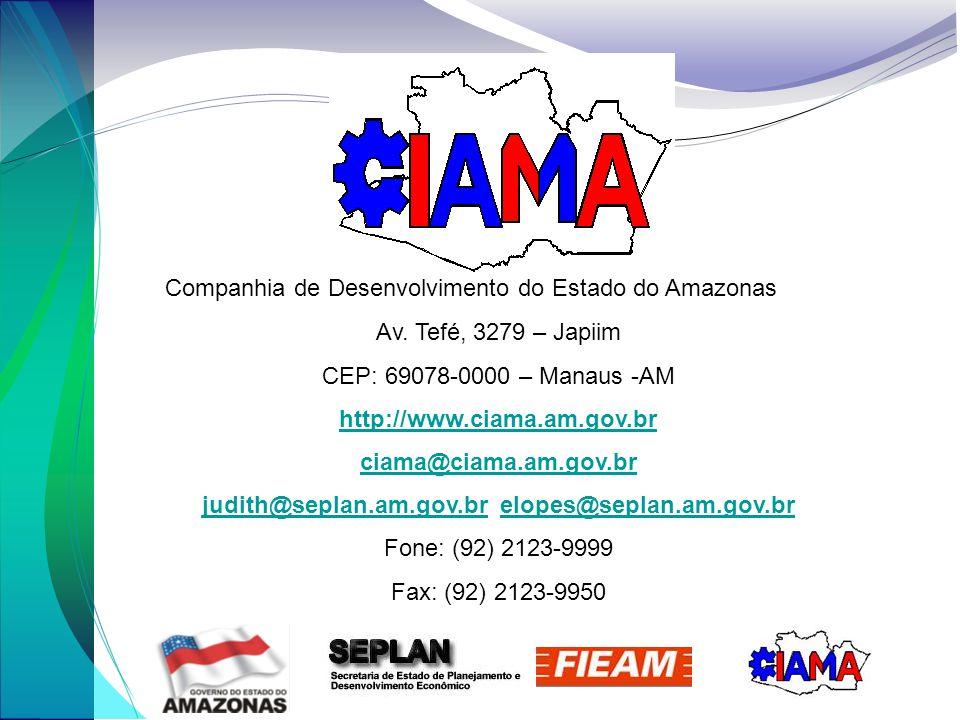 judith@seplan.am.gov.br elopes@seplan.am.gov.br