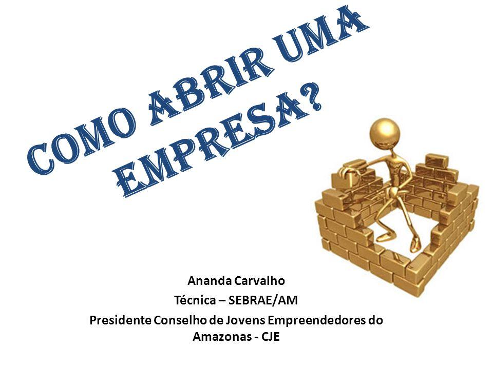 Presidente Conselho de Jovens Empreendedores do Amazonas - CJE