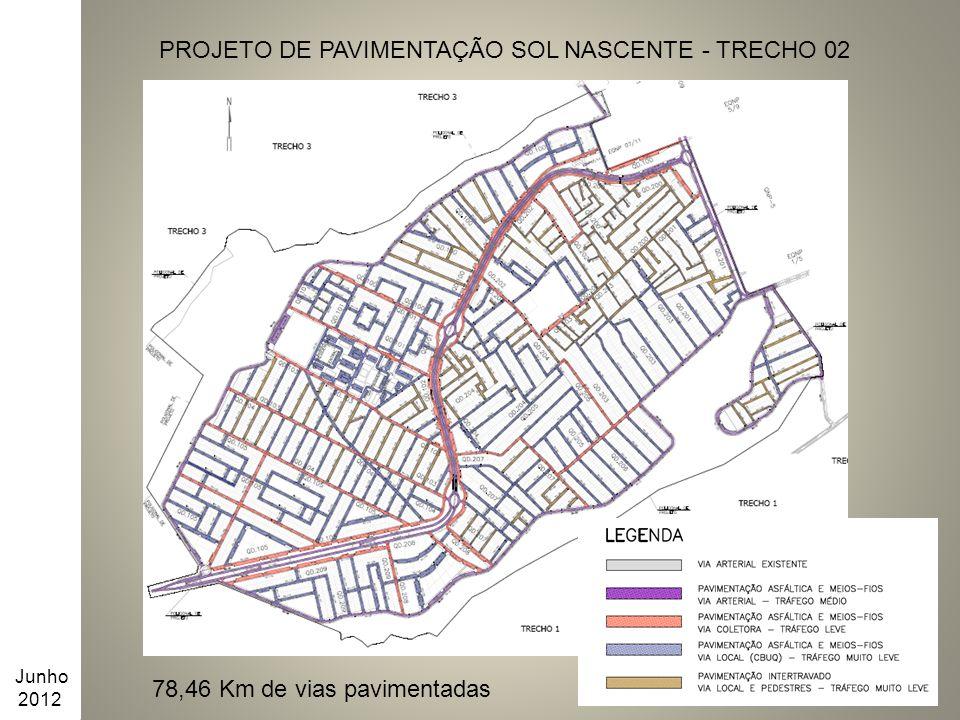 PROJETO DE PAVIMENTAÇÃO SOL NASCENTE - TRECHO 02