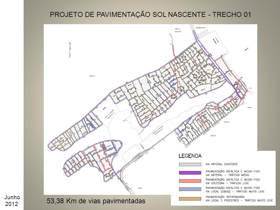 PROJETO DE PAVIMENTAÇÃO SOL NASCENTE - TRECHO 01