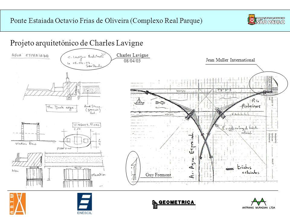 Projeto arquitetônico de Charles Lavigne