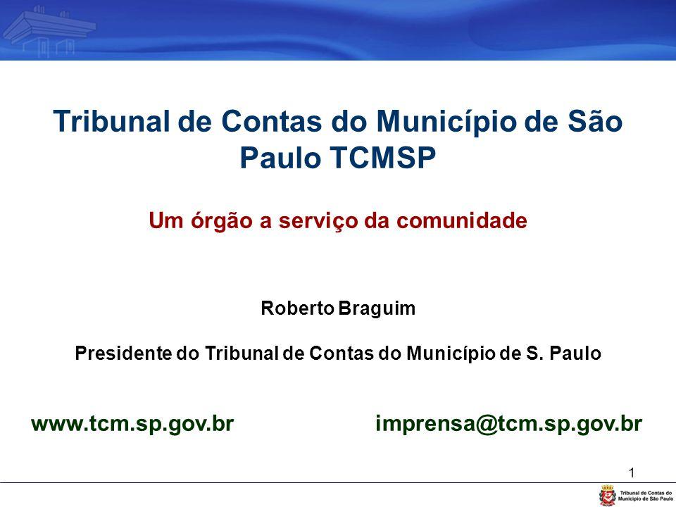 Tribunal de Contas do Município de São Paulo TCMSP