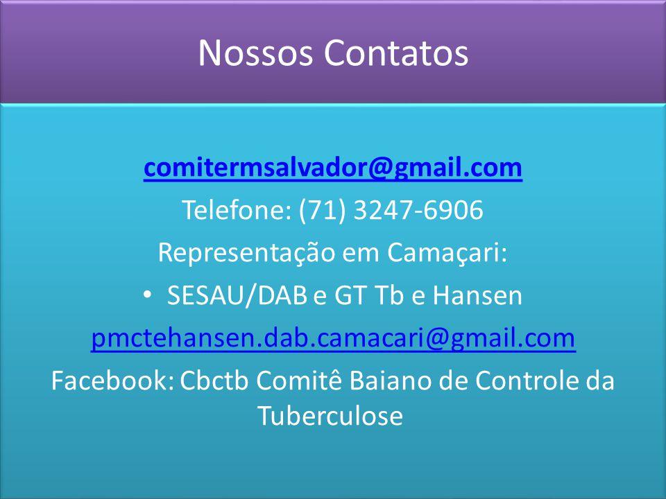 Nossos Contatos comitermsalvador@gmail.com Telefone: (71) 3247-6906