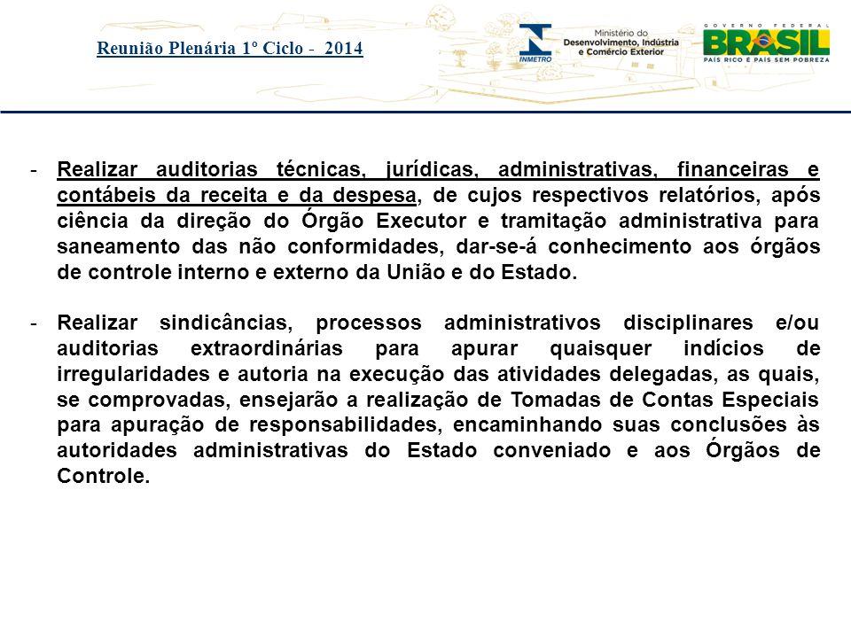 Reunião Plenária 1º Ciclo - 2014