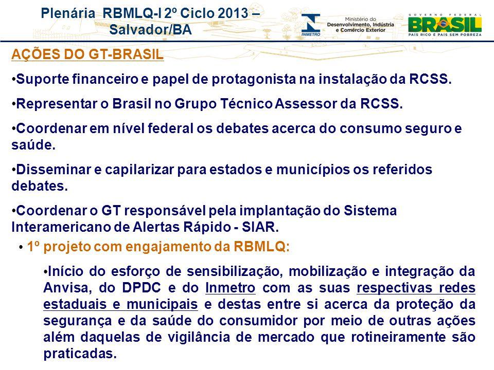 Suporte financeiro e papel de protagonista na instalação da RCSS.