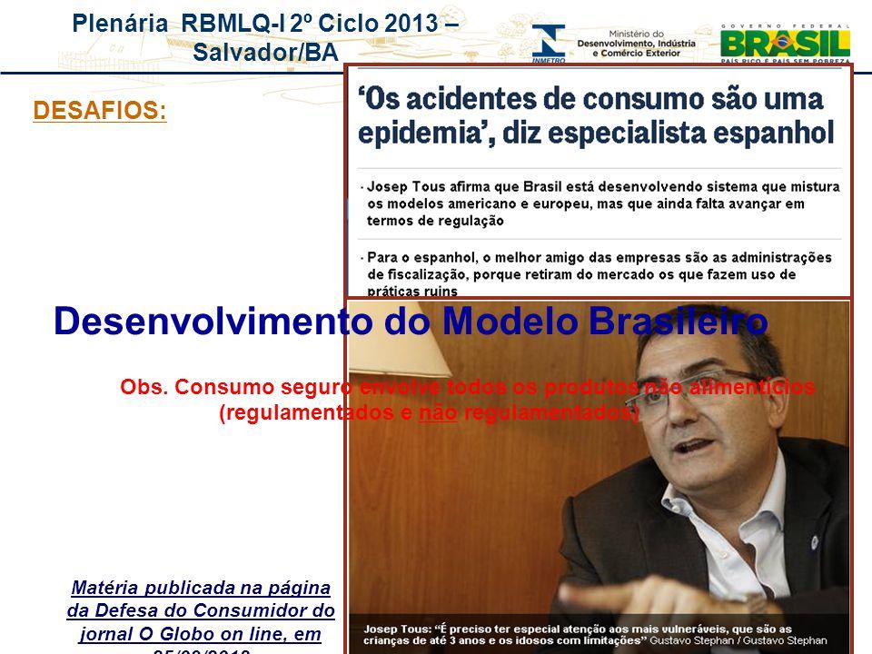 Desenvolvimento do Modelo Brasileiro