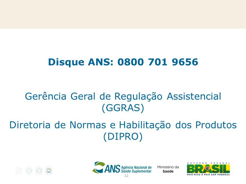 Gerência Geral de Regulação Assistencial (GGRAS)