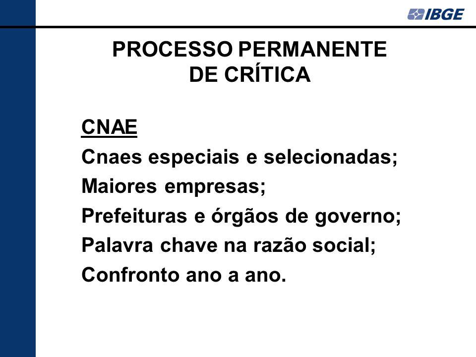 PROCESSO PERMANENTE DE CRÍTICA