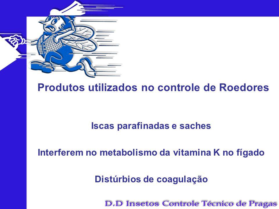 Produtos utilizados no controle de Roedores