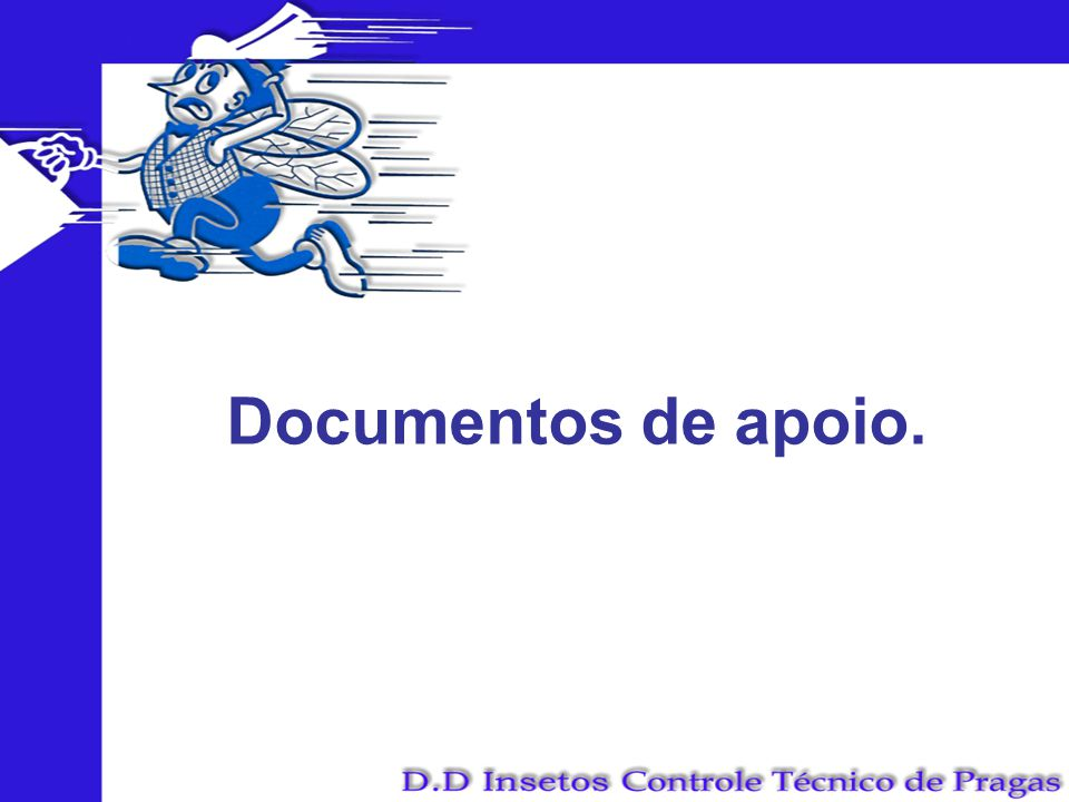 Documentos de apoio.