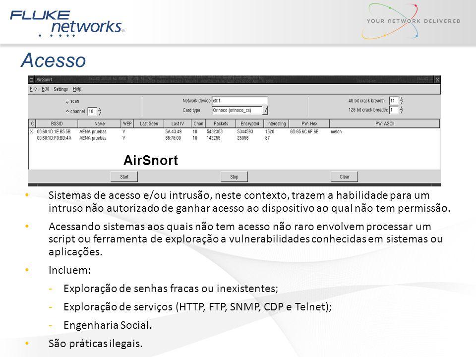 Acesso AirSnort.
