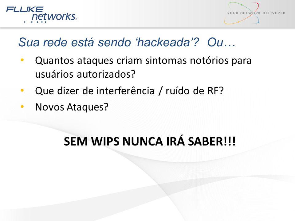 Sua rede está sendo 'hackeada' Ou…