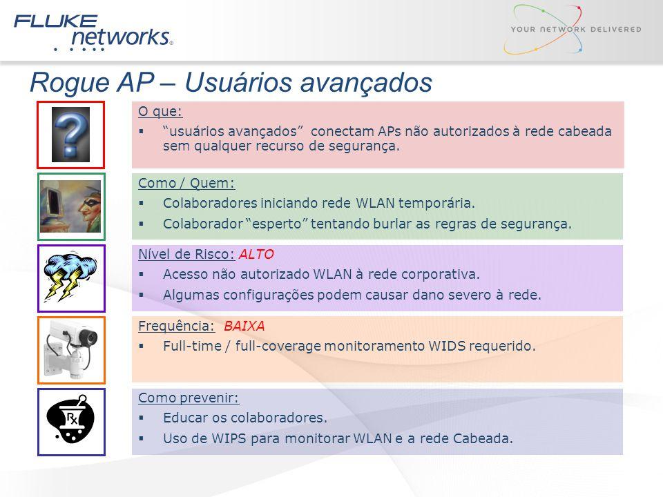 Rogue AP – Usuários avançados