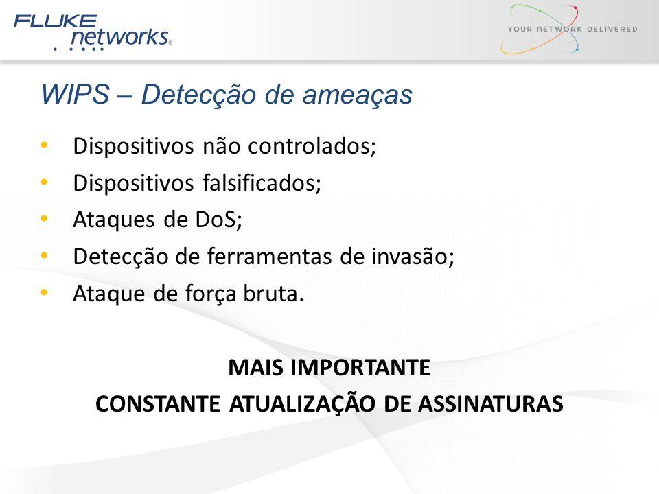 WIPS – Detecção de ameaças