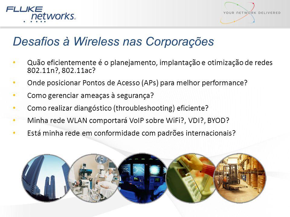 Desafios à Wireless nas Corporações