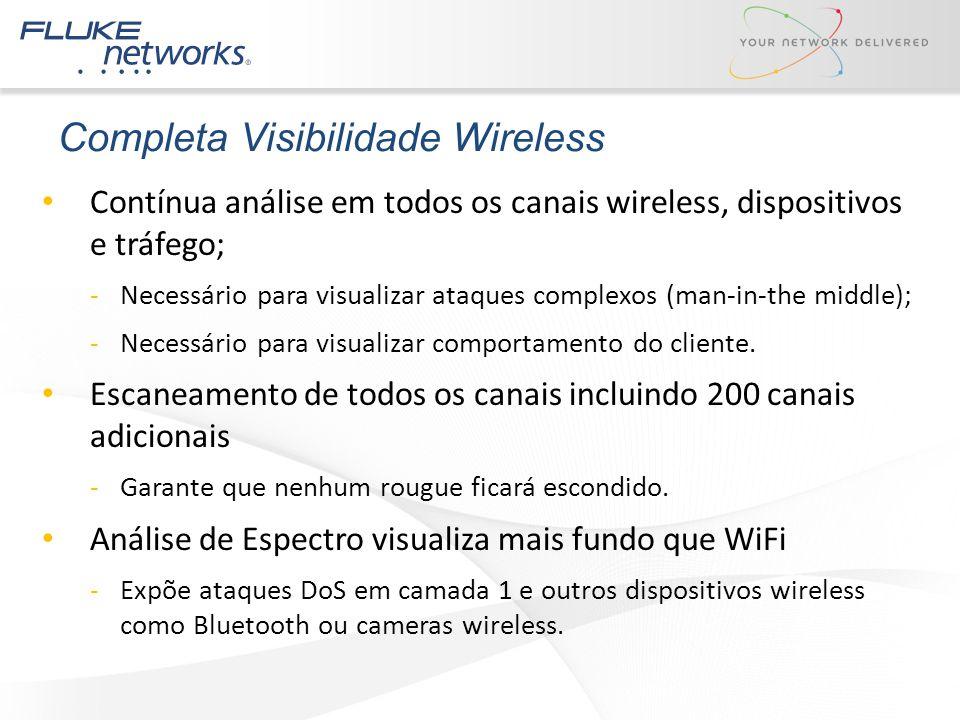 Completa Visibilidade Wireless